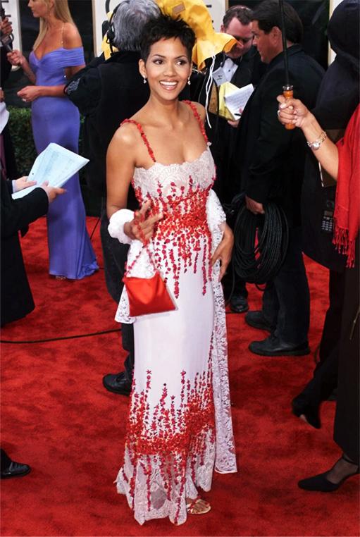 Halle Berry in Valentino